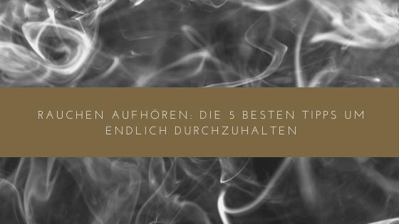 Rauchstopp: Rauchen in der Schwangerschaft